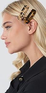 Acrylic Hair Barrettes