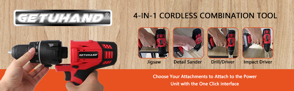 4-IN-1 power tools