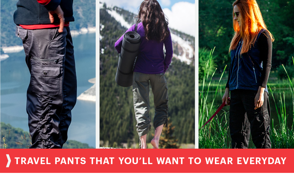 travel pants you want to wear everyday