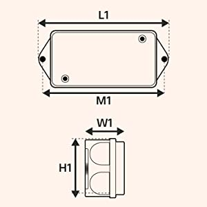 hopkins 7 blade wiring diagram amazon com online led store 8ft 7 way trailer plug wiring harness  trailer plug wiring harness