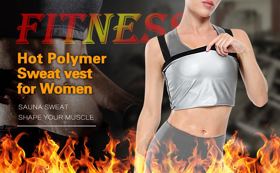 sauna vest for women weight loss
