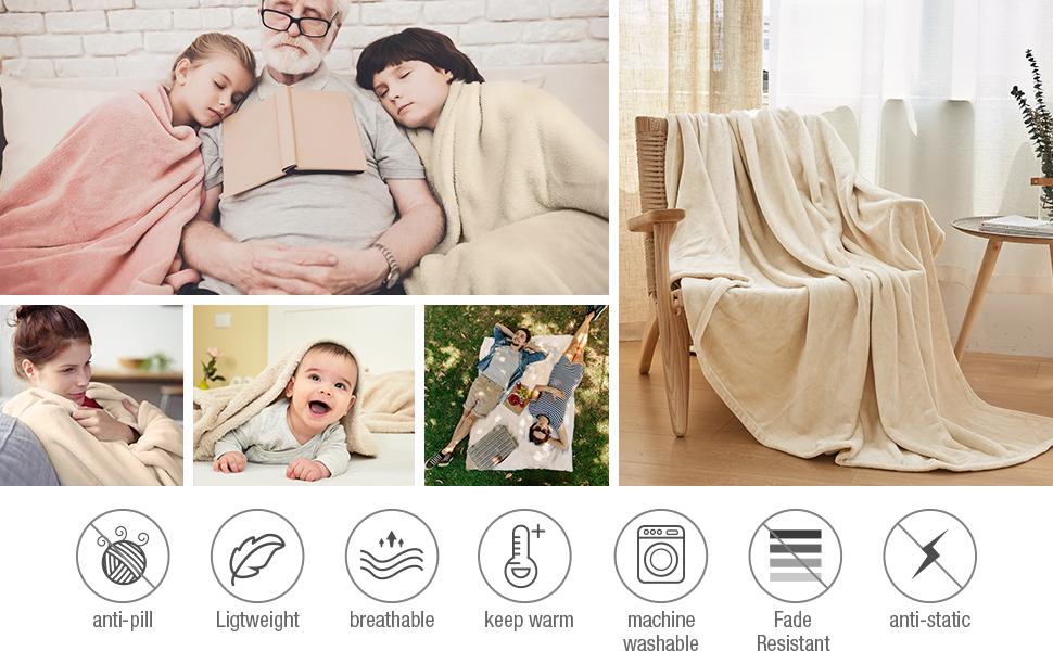 kids blanket breathable blanket bed blanket cozy blanket queen size blanket fleece grey blanket