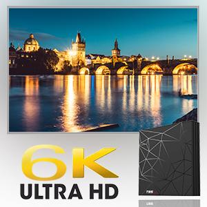 4K 6K TV BOX