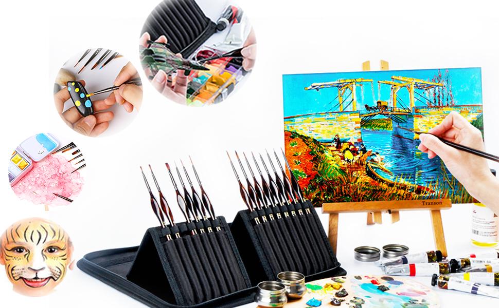 model brushes