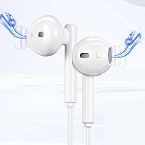 1  USB C Headphone HiFi Stereo in Ear USB C Earbuds Type C Headphones with Microphone Bass Earbud with Volume Control Compatible with Google Pixel 3XL,OnePlus 7 Pro,XiaoMi,Huawei P30 Pro,iPad Pro,Sony 82fdc693 17d9 4d54 8deb ef71c2536413