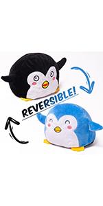 Reversible Penguin Plush
