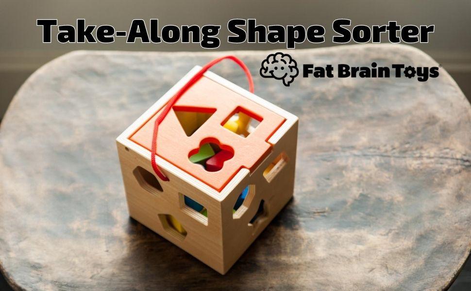 Fat Brain Toys Take Along Shape Sorter