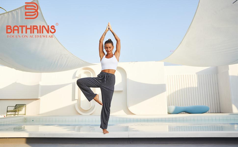 Bathrins Comfy Yoga Lounge Pants