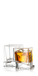 Square Whiskey Glasses