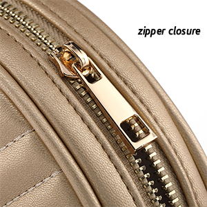 Crossbody Bags for Women Round Purse Quilted purse, Faux Leather, with Tassel