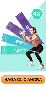 Bandas elásticas de fitness