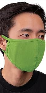 auline collection face mask lt light olive