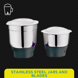 Stainless Steel Jars and Blades