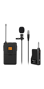 Wireless Microphone Lapel