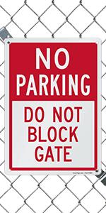 Do Not Block Gate