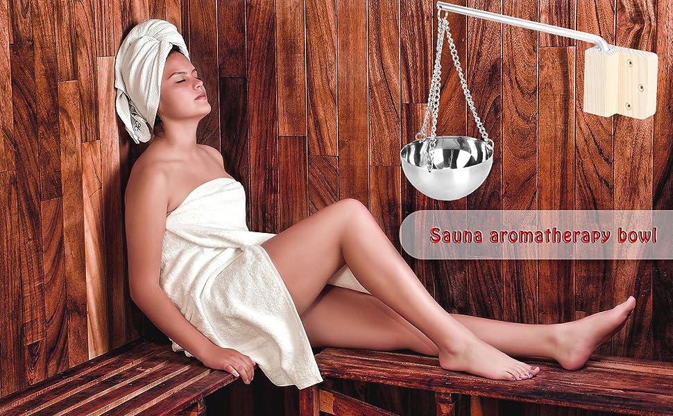 Bol d'aromathérapie pour sauna