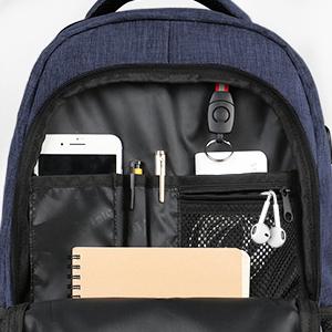 Sac à Dos PC Portable avec USB Charging Port Imperméable Antivol Sac a Dos PC Portable