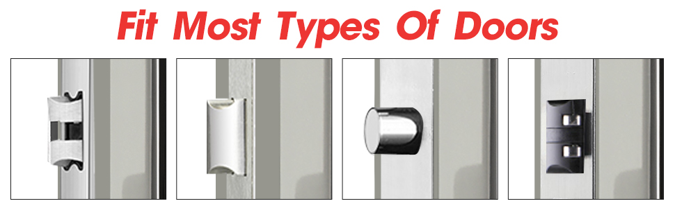 fit most types of doors