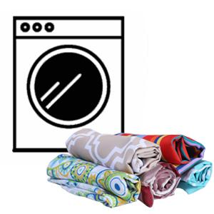 Easy machine washing
