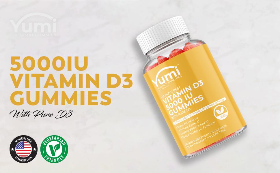 vitamin d3 gummies immune support