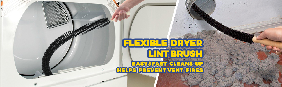 flexible lint brush