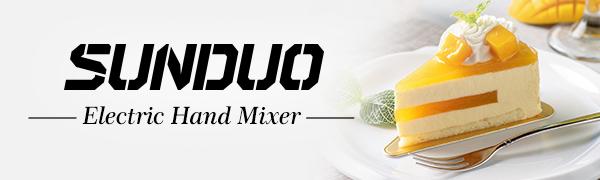 SUNDUO hand mixer