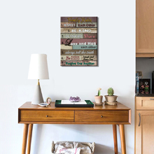 wall art for reading room