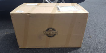 advanblack stretched saddlebags package packaging