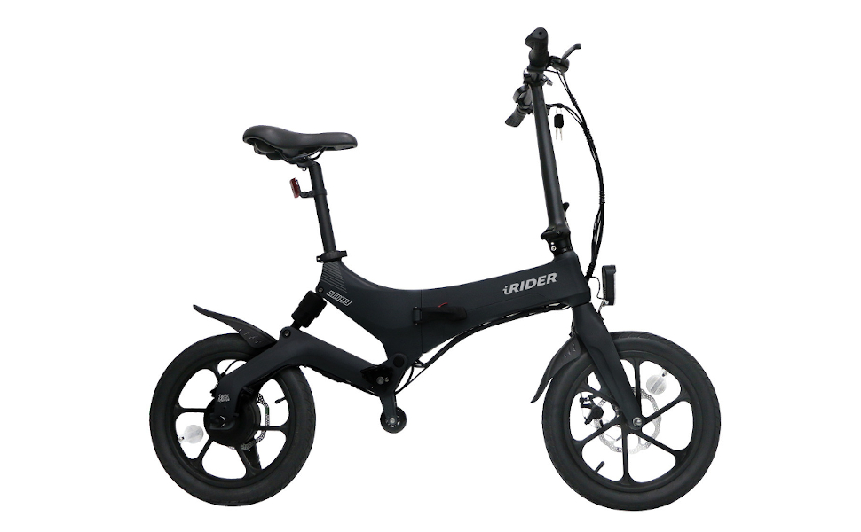 IWATMOTION iWatScooter eScooter Eléctrica Plegable iRider Negra: Amazon.es: Deportes y aire libre