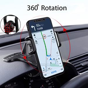 360 degress rotation phone holder