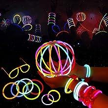 glow stick bracciali  Farfalla di bracciali,bicchieri luminosi