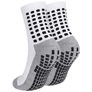 Non-slip sports socks.