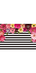 Amazon.com : Allenjoy 7x5ft Photography backdrops Black and ...