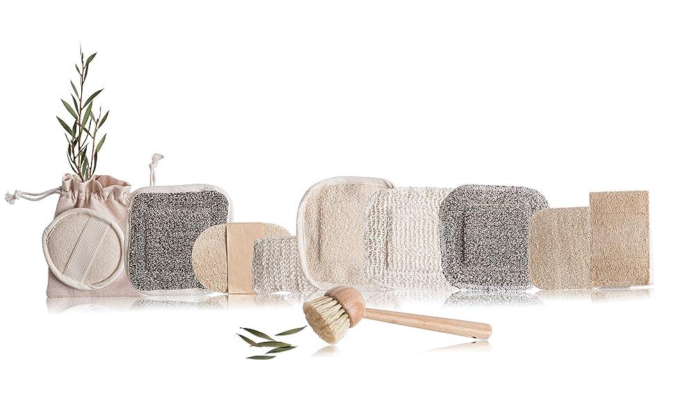 eco sponges loofah scrubbers for men loofah shower sponges pot scrubbers eco dish scrubbers