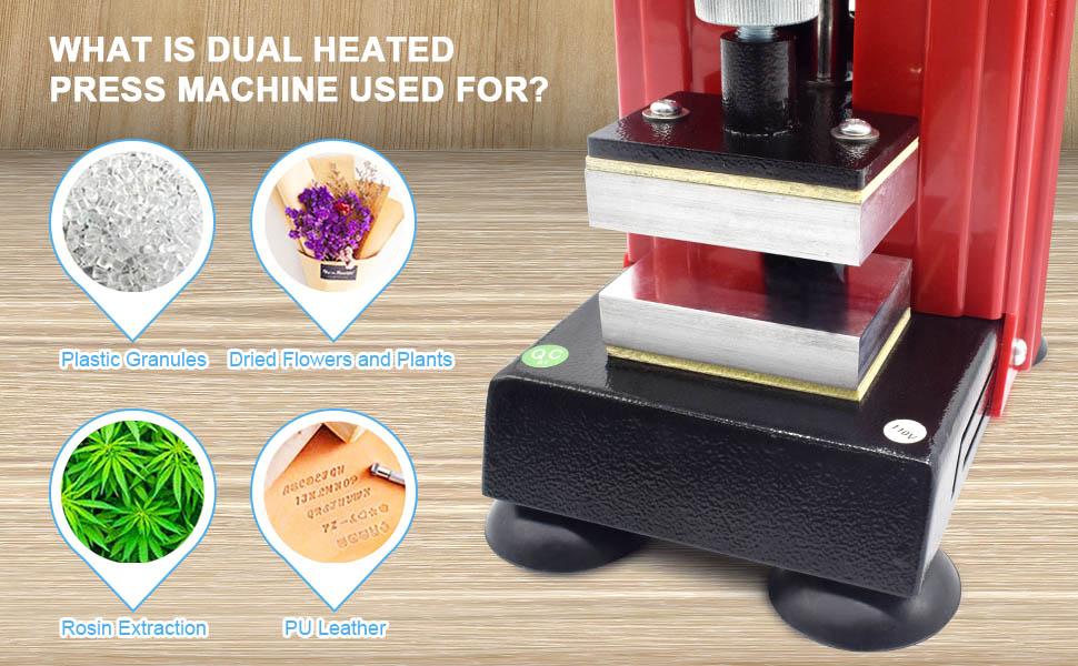 Heat presser application
