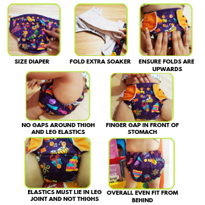 How to wear cloth diaper superbottoms