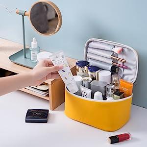 3makeup bags for girls   makeup purse small  makeup bag for purse  trendy cosmetic bag