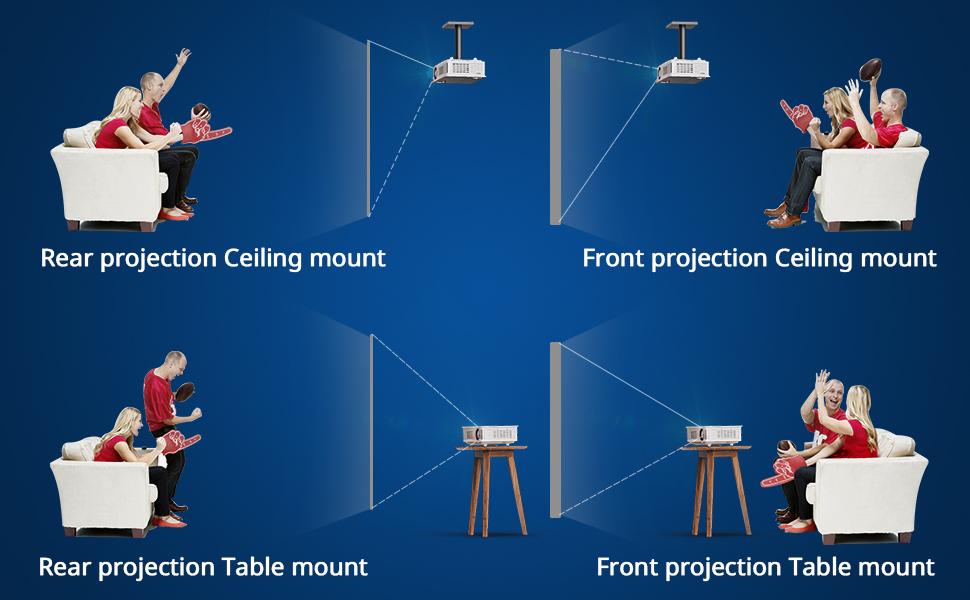 CEILING MOUNT