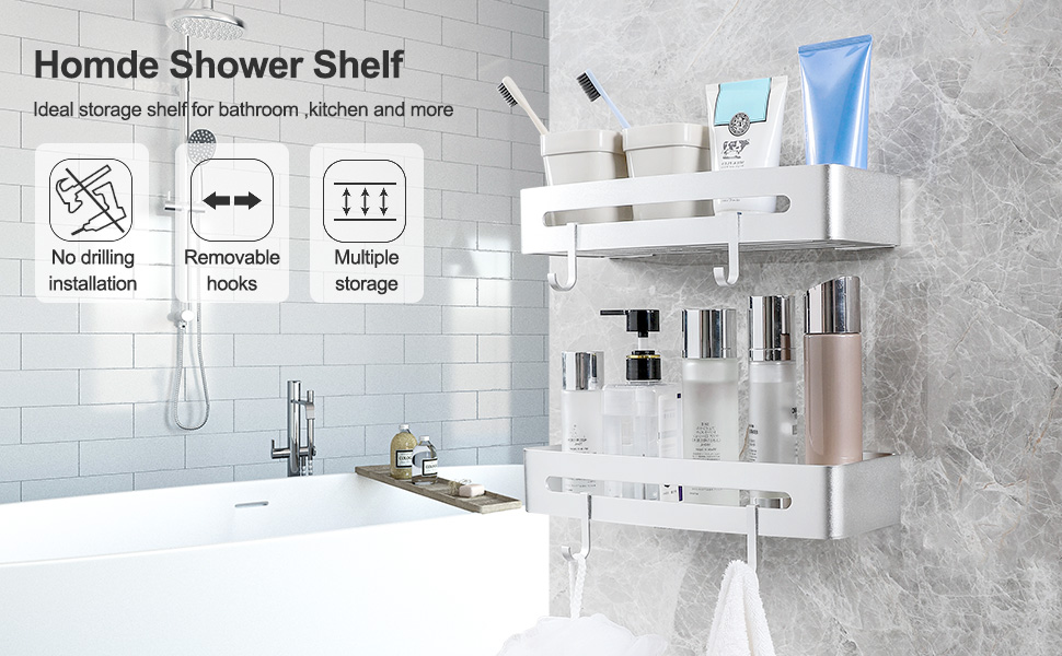 Homde shower shelf