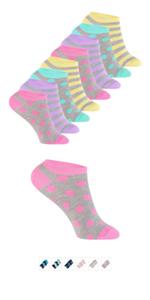 7 pares de calcetines para ni/ños y ni/ñas en colores variados Footstar
