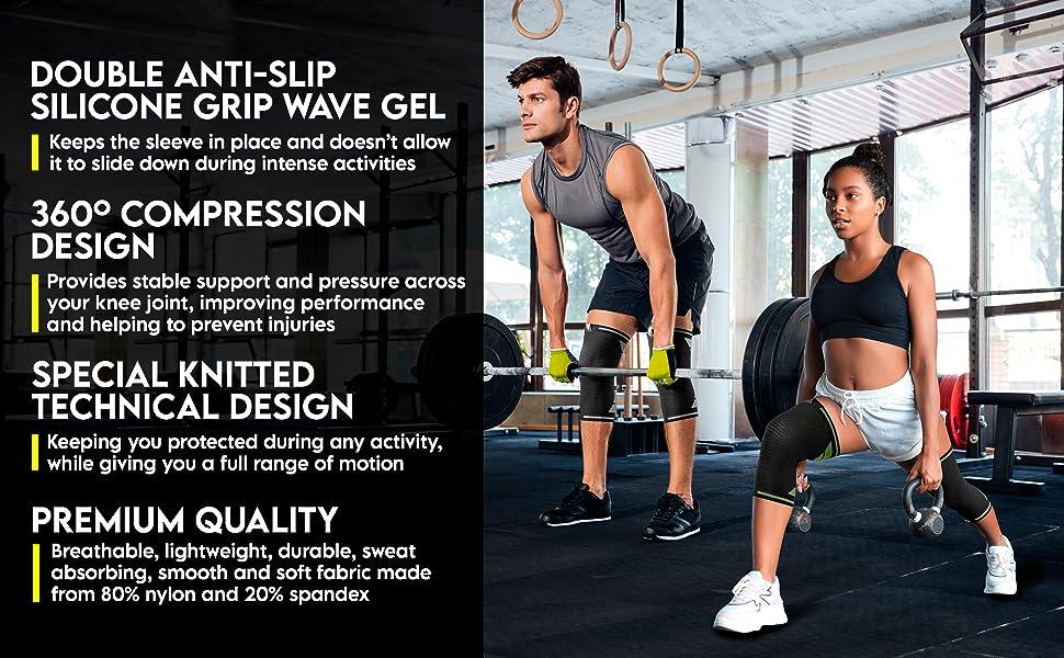 knee sleeves for weightlifting