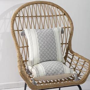 green bed soft cute long textured lumbar rectangle bohemian chairs accent oblong small rectangular