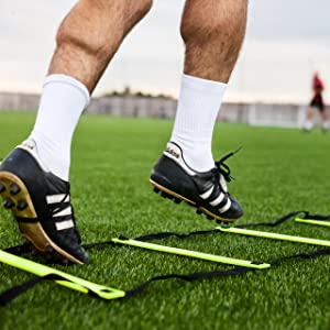 FORZA Escalera de Velocidad para Entrenamientos de Fútbol (3m o 6m) (3m): Amazon.es: Deportes y aire libre