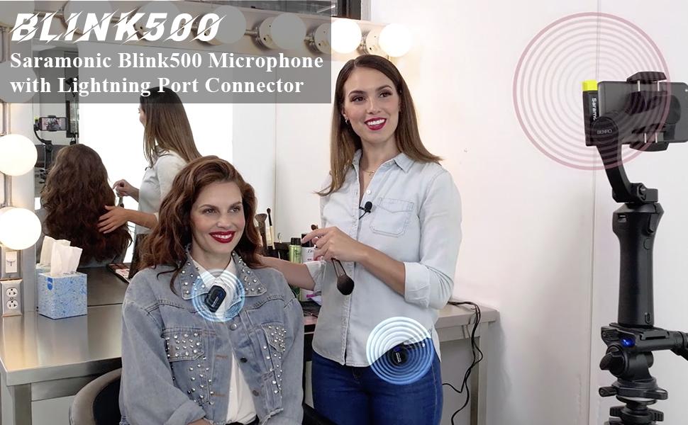 saramonic blink500 microphone