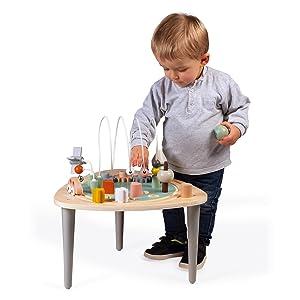 table d'activités sweet cocoon bois janod enfant