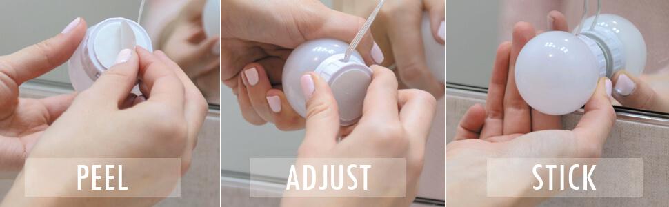 led vanity light kit