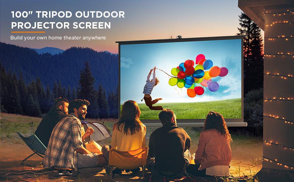 Indoor and Outdoor projector