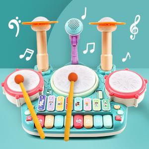 play drum set