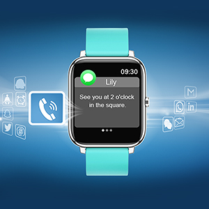 Rogbid smartwatch Rowatch 1 SNS