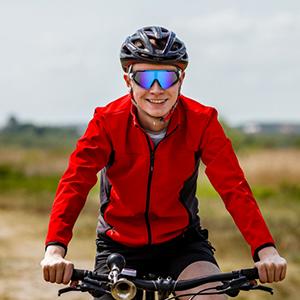 GARDOM Gafas de Ciclismo Hombres Mujeres, Gafas de Sol Deportivas ...